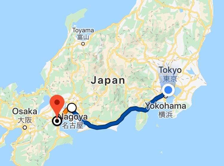 Tokyo-Mie_Route